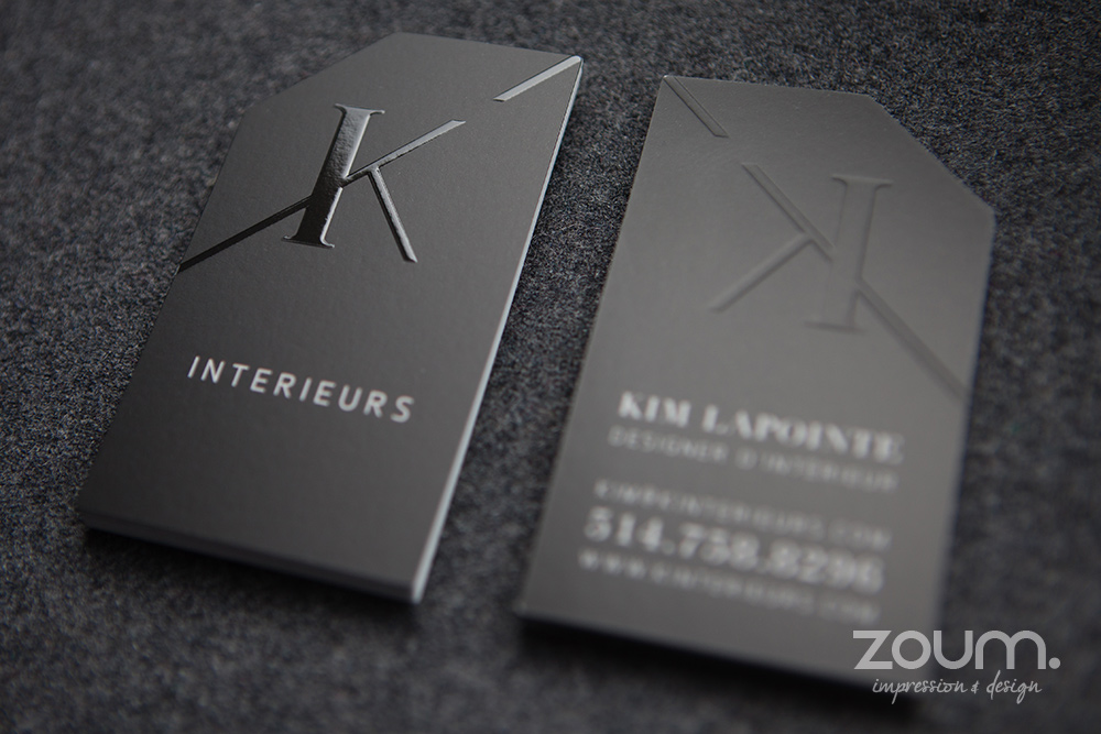 Embossed business cards zoum embossing important please read reheart Gallery