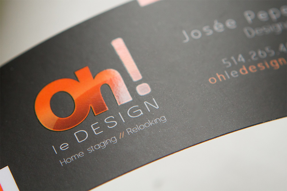 Spot uv business cards printing by zoum business cards spot uv accent spot uv logo colourmoves